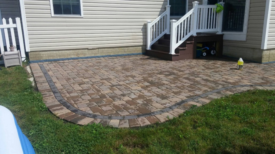 Residential Brick & Stone Patio Hardscaping, Independence, OH 44131