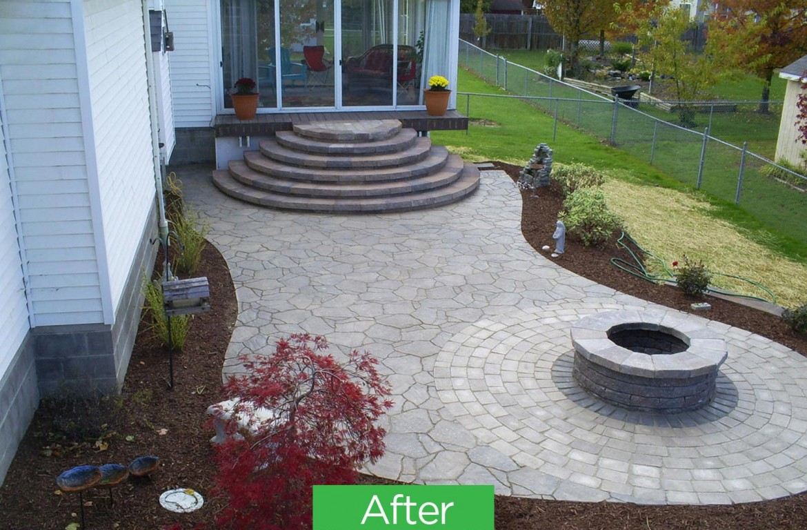 Residential Brick & Stone Patio Hardscaping, Seven Hills, OH 44131