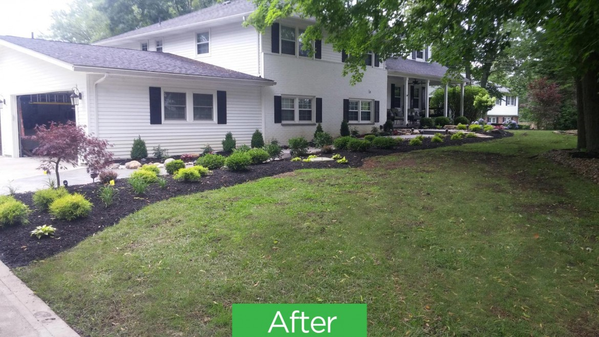 Residential Landscaping, Mulch, Brunswick 44212