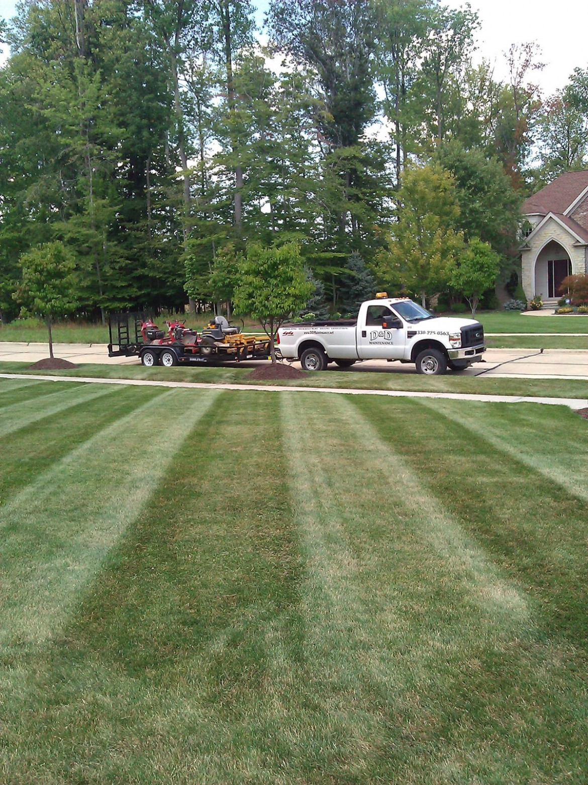 Lawn care d d maintenance for Lawn care and maintenance